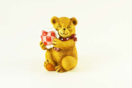 Valentines Teddy Bear with Heart