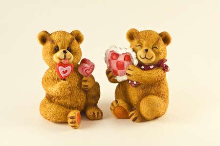 Two Valentine Bears