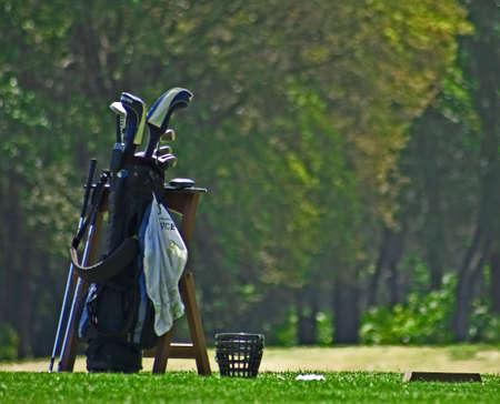 Golf Bag Stok Fotoğraf - 2934570