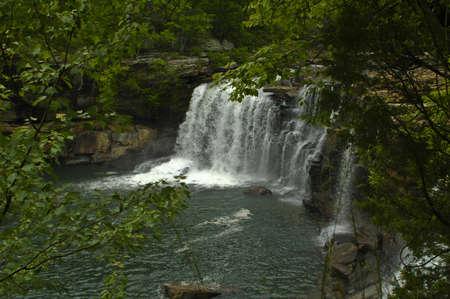 Scenic Waterfall Stok Fotoğraf