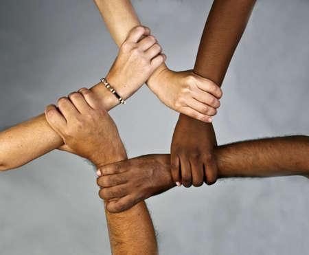 to commit: Diversity Stock Photo