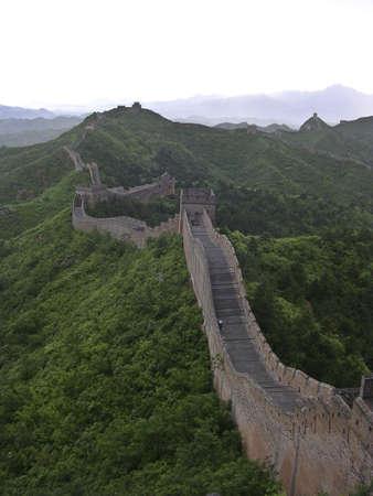 gaurd: Great Wall of China Stock Photo