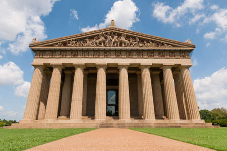 Life size replica of the Parthenon in Nashville, Tennessee