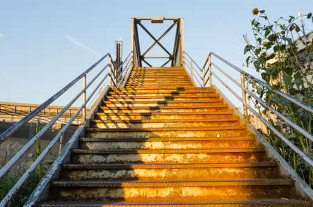 ironworks: Old forgotten stairs in Queens, New York