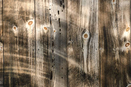 Close up of wood paneling texture on old barn Фото со стока