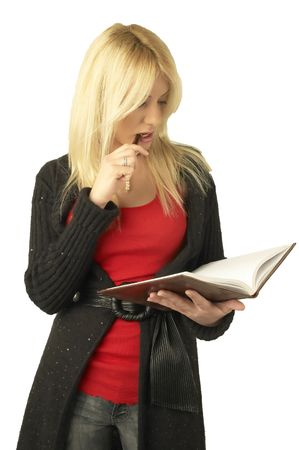Reading schedule Stock Photo - 929875