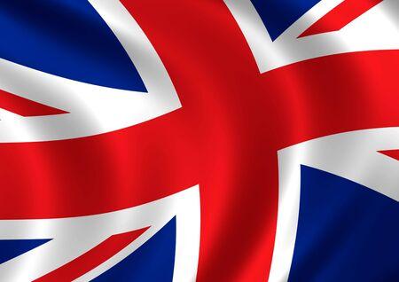 bandera reino unido: Generados por computadora de alta resoluci�n pabell�n del Reino Unido