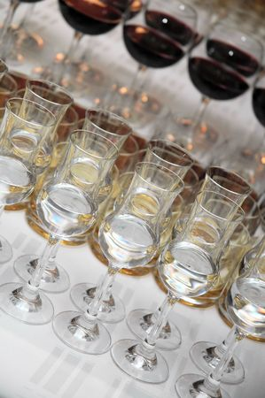 Various drinks on table. Party time. Stock Photo - 947269