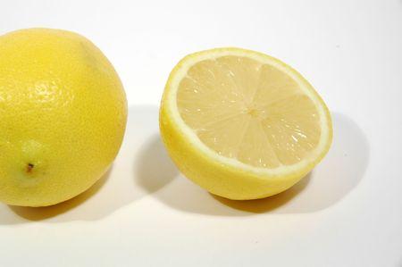 Two halfs of lemon Stock Photo - 990003