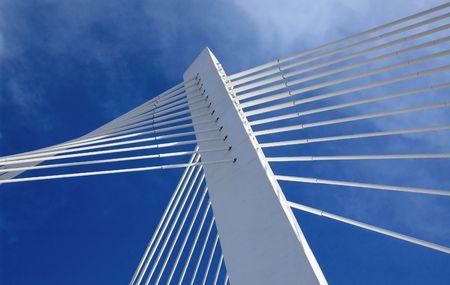 guard rail: Bridge in moder architecture style.