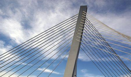 guard rail: Detail of modern bridge