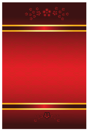 festive occasions: flor de rojo chino aprovechando rojo