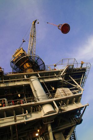 offshore mechanical construction oil drilling photo