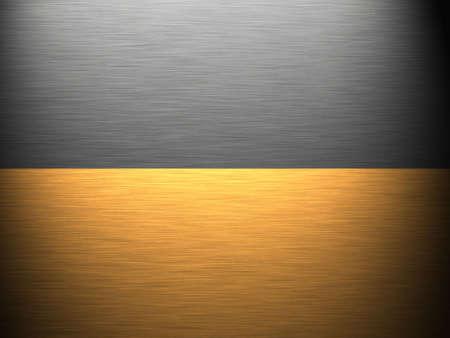 Gold - Aluminium - Metal Texture