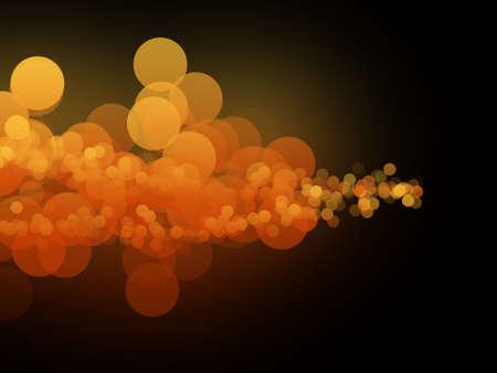Many orange circles Stock Photo - 5633661