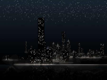 City night Stock Photo - 5657190