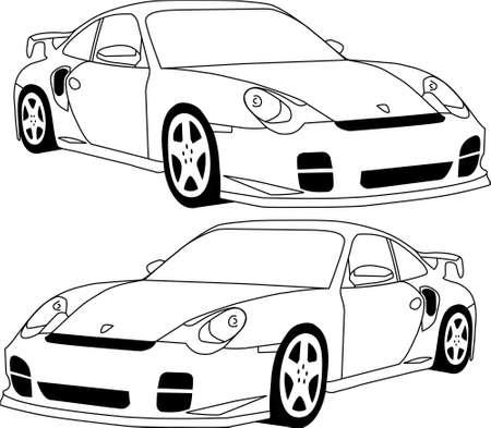 prestige car: 911 Porsche