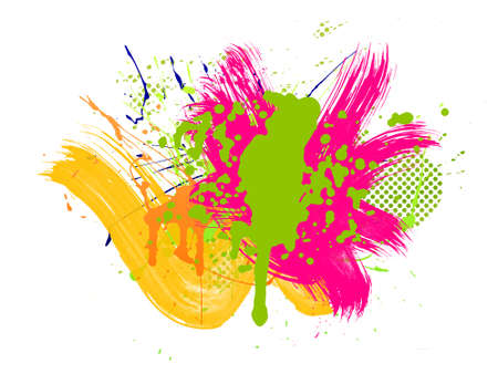 Colorful abstract illustration