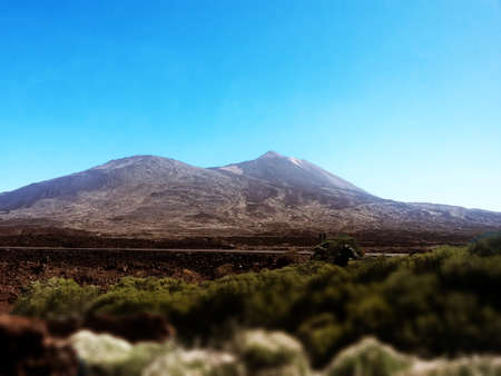 A hill teide on tenerife