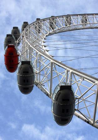 millennium wheel: London eye