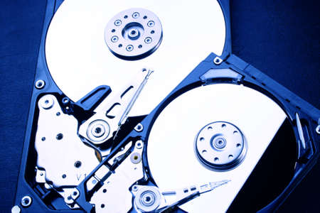 2 x HDD - Hard Disk Drive is open - 2.5  and 3.5
