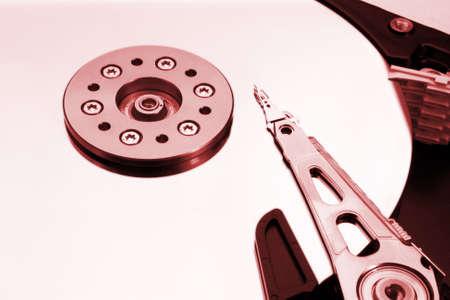 HDD - Hard Disk Drive is open Banco de Imagens