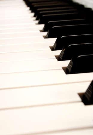 Piano Keys Banco de Imagens