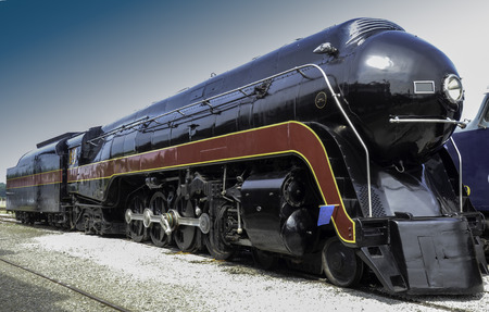 Norfolk And Western 611 Steam Engine And Coal Car