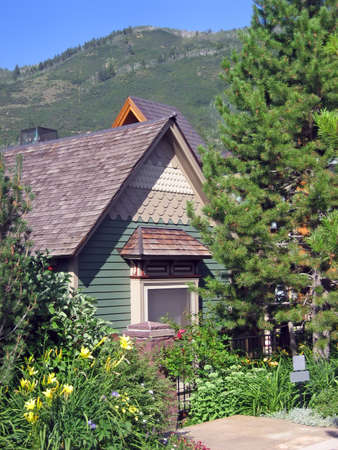 Cozy cottage home nestled in the Rocky Mountains of Colorado.