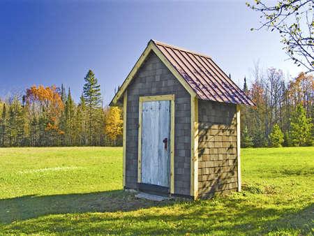 outhouse: Ontonagon Outhouse