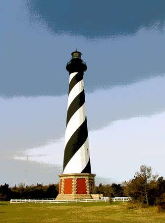 Vector_Cape Hatteras Light