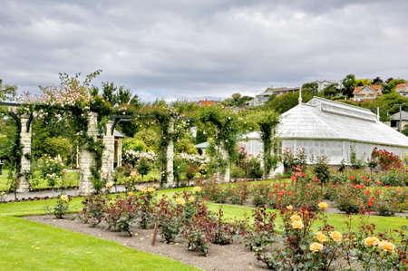 Oamaru Public Gardens in New Zealand