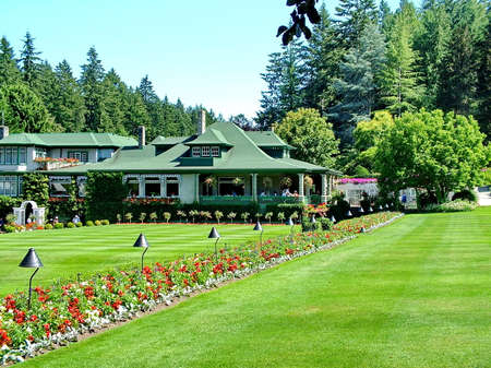 Victoria, British Columbia, Canada, June 25th 2012; Lovely Butchart Gardens in Victoria, BC. Editorial