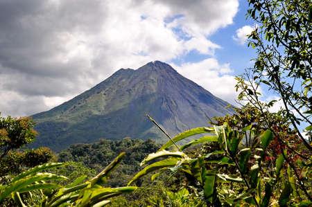 Arenal Volcano 版權商用圖片
