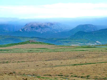 Tablelands in Gros Morne National Park Standard-Bild - 124862263