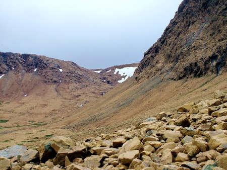 Tablelands in Gros Morne National Park Standard-Bild - 124862264