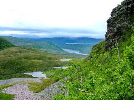 Gros Morne Summit, Newfoundland Standard-Bild - 124862312