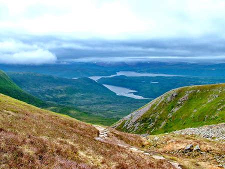 Gros Morne Summit, Newfoundland Standard-Bild - 124862318