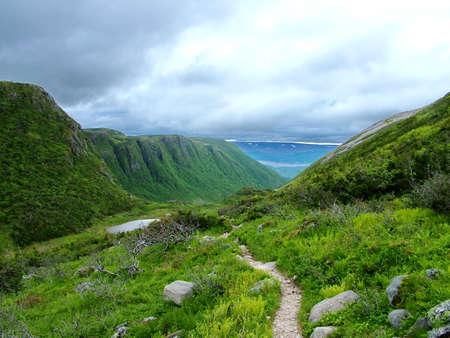 Gros Morne Summit, Newfoundland Standard-Bild - 124862320