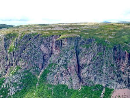 Gros Morne Summit, Newfoundland Standard-Bild - 124862335