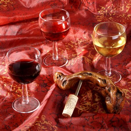 three wine Stock Photo - 4539941