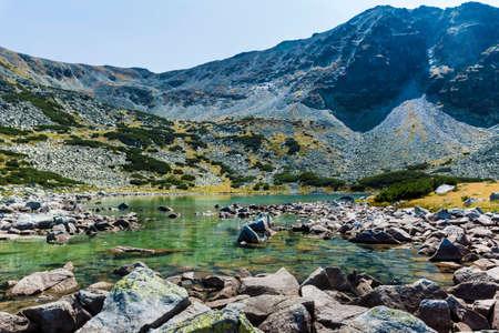 Green Water Lake  in Rila Mountain,Bulgaria