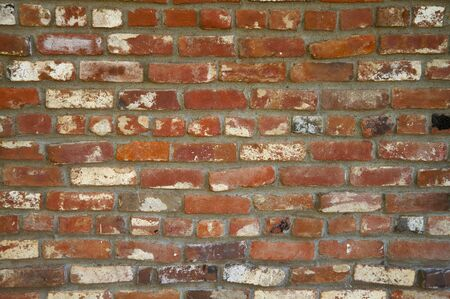 Old Red Brick Wall with on Sacramento public building Stock Photo - 5745176
