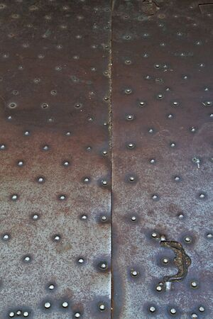ironworks: Steel cellar doors on a city sidewalk in a Vertical image Stock Photo