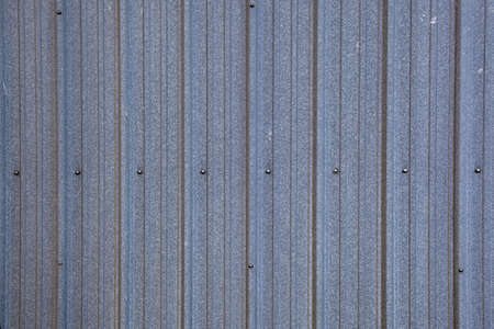 Close up of a section of a Galvanized steel wall photo