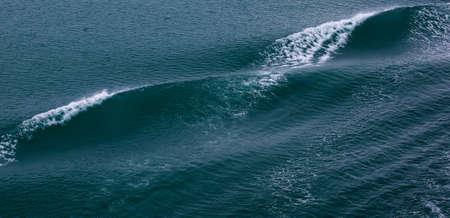 Ocean Bow wave off a large cruise ship Banco de Imagens
