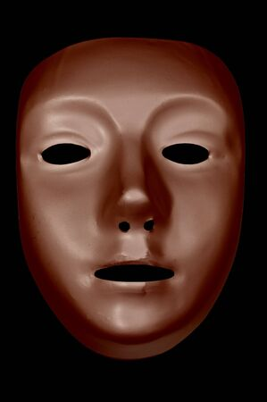 Bronze Drama Mask Stock Photo - 11425320