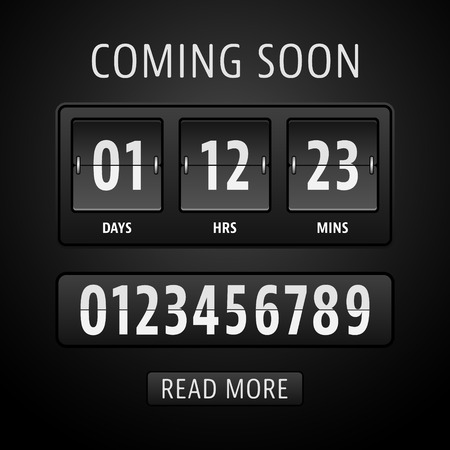 Countdown timer template