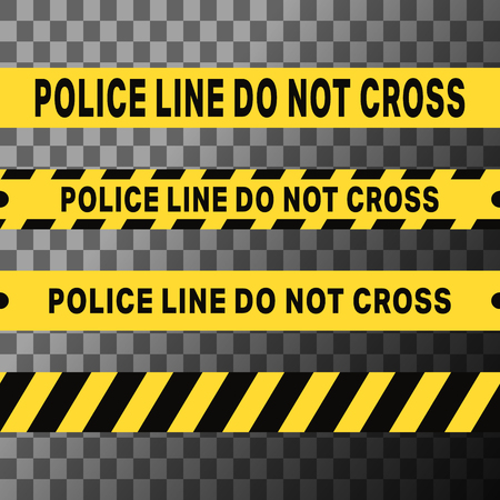 Police line do not cross tapes