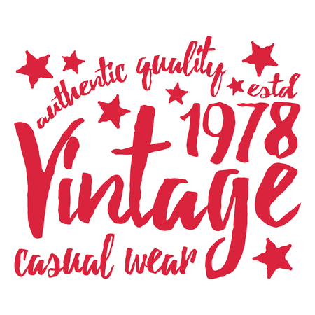 campus: T-shirt print design. Vintage tshirt stamp. Printing and badge applique label t-shirts, jeans, casual wear. Vector illustration. Illustration
